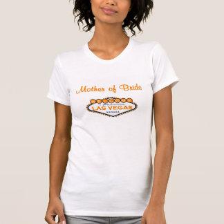 Las Vegas Mother of Bride Tee Orange