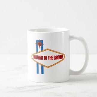 Las Vegas Mother of the Groom Basic White Mug