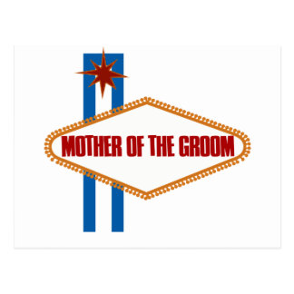 Las Vegas Mother of the Groom Postcard