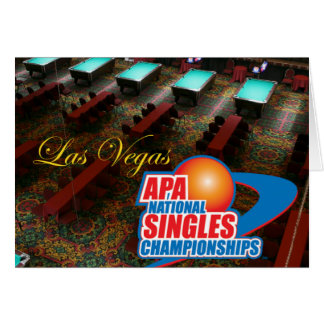 Las Vegas National Singles Championships Card