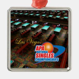 Las Vegas National Singles Championships Christmas Ornament