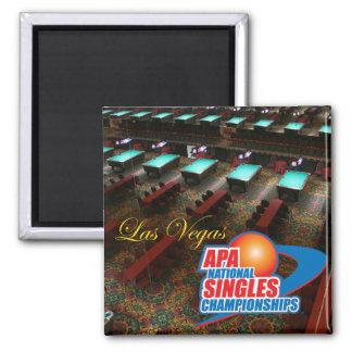Las Vegas National Singles Championships Magnet