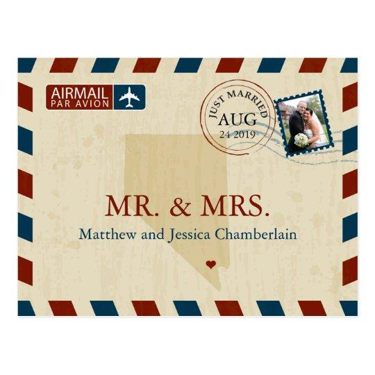 Las Vegas Nevada Airmail | Wedding Thank You