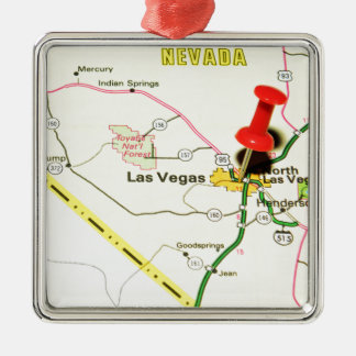 Las Vegas, Nevada Christmas Ornament