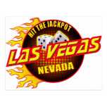 Las Vegas, Nevada - Hit The Jackpot #2 Postcard