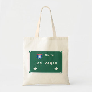 Las Vegas Nevada nv Interstate Highway Freeway : Tote Bag