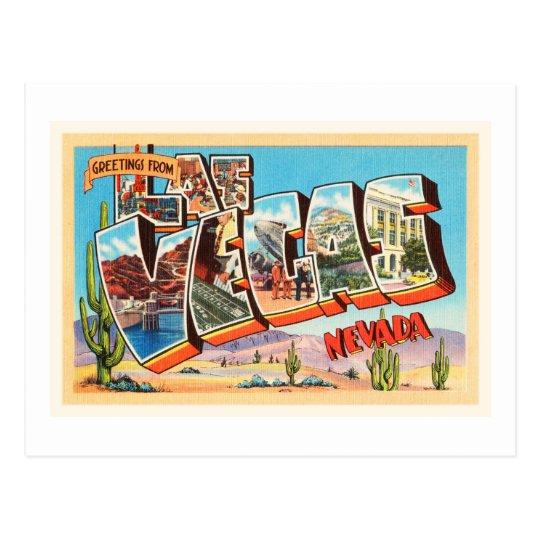Las Vegas Nevada NV Old Vintage Travel Souvenir