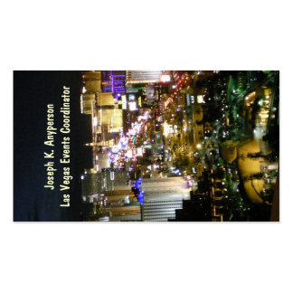Las Vegas Nevada Pack Of Standard Business Cards