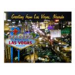 Las Vegas Nevada Postcard
