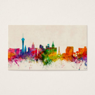 Las Vegas Nevada Skyline Business Card