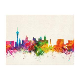 Las Vegas Nevada Skyline Canvas Prints