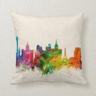 Las Vegas Nevada Skyline Cushion