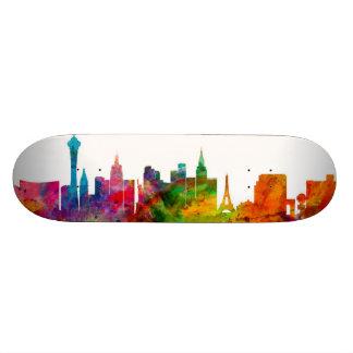 Las Vegas Nevada Skyline Skate Board