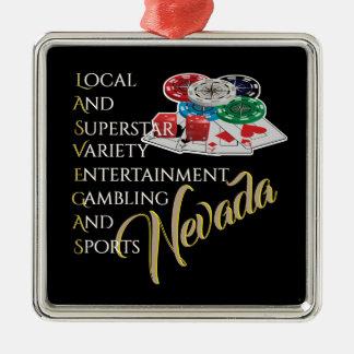 Las Vegas Nevada Souvenir Christmas Ornament