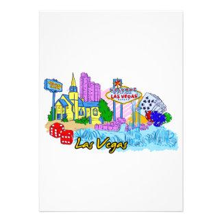 Las Vegas - Nevada - United States of America png Custom Invitation