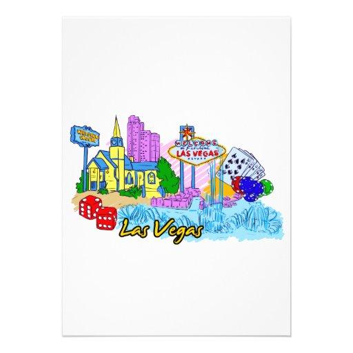Las Vegas - Nevada - United States of America.png Custom Invitation