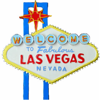 Las Vegas Nevada Welcome Sign Cut Out