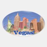 Las Vegas New York New York hotel view stickers