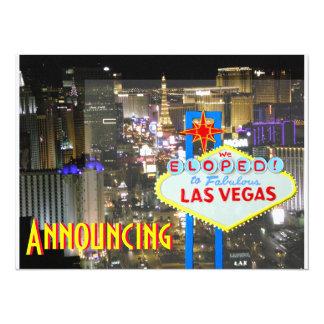 Las Vegas Newlyweds Marriage Photo Card 14 Cm X 19 Cm Invitation Card