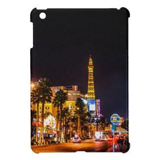 Las Vegas Night Lights Strip Eiffel Tower Casino iPad Mini Cases