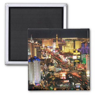 Las Vegas Night Skyline Magnet