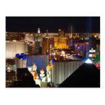 Las Vegas night time Post Cards