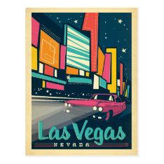 Las Vegas, NV Postcard at Zazzle