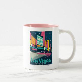 Las Vegas, NV Two-Tone Coffee Mug