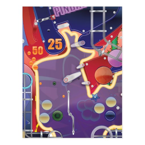 Las Vegas Pinball Machine Post Cards