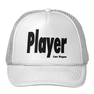 Las Vegas Player Cap Mesh Hats