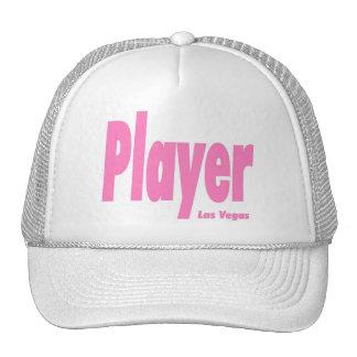 Las Vegas Player Cap Pink Hats