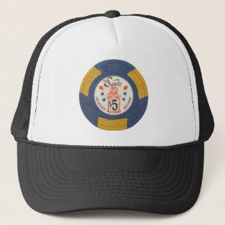 Las Vegas Poker Chip Casino Gambling Obsolete Trucker Hat