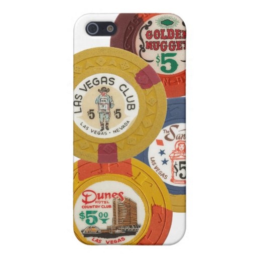 Las Vegas Poker Chips Casino Gambling Hotel Craps iPhone 5 Cases