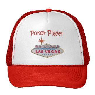 Las Vegas Poker Player Cap Hat