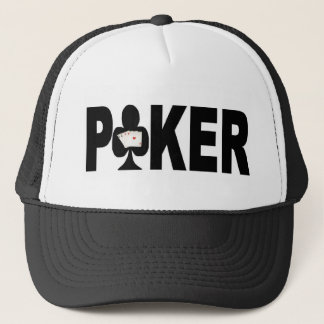 Las Vegas POKER Player Lucky Cap