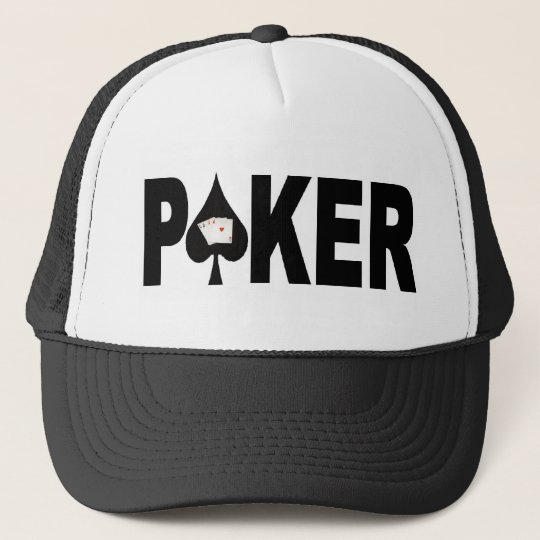 Las Vegas POKER Player Lucky Cap! Cap