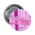 Las Vegas Pop Art Retro Pins
