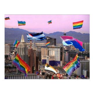 Las Vegas Pride Postcard