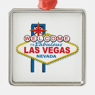 Las Vegas Retro Sign Christmas Ornament