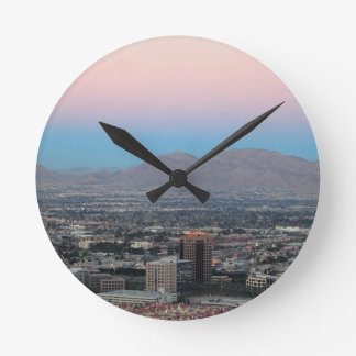 Las Vegas Round Clock