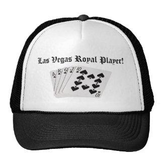 Las Vegas Royal Player! Cap Mesh Hats