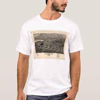 Las Vegas San Miguel County New Mexico (1882) T-Shirt