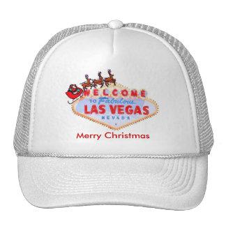 Las Vegas Santa & Reindeers Merry Christmas Hat