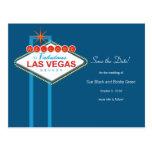 Las Vegas Save The Date Post Card