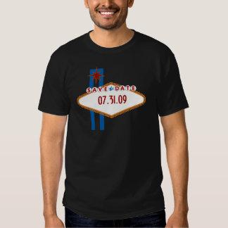 Las Vegas Save the Date Tshirt
