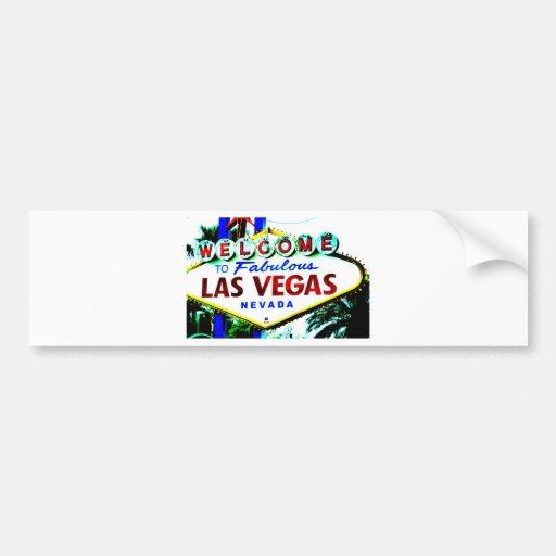 Las Vegas Sign Bumper Sticker