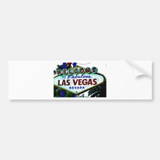 Las Vegas Sign Bumper Stickers