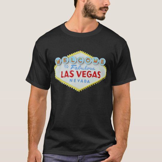 Las Vegas Sign double sided Tee