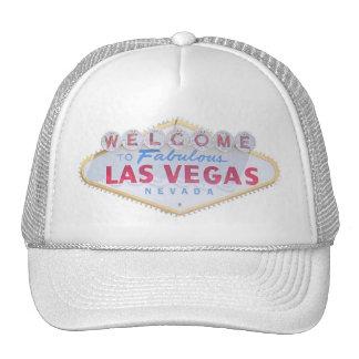 Las Vegas Sign Logo Cap Trucker Hat