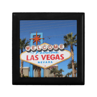 Las Vegas Sign Nevada Casino Gambling Landmark Gift Box
